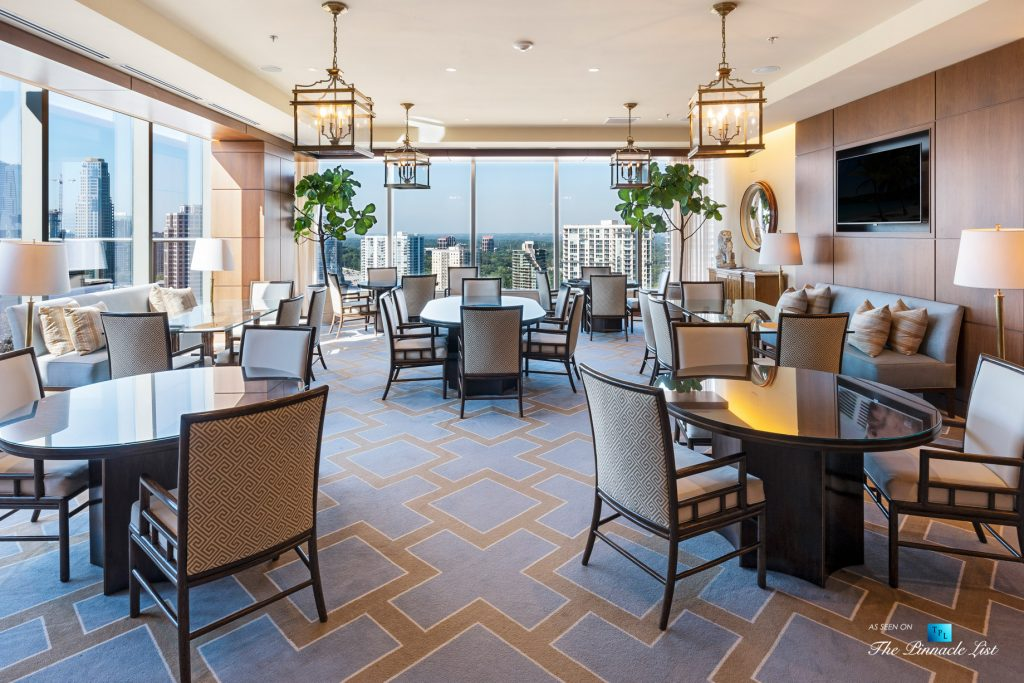 3630 Peachtree Rd NE, Unit 2808, Atlanta, GA, USA - Condo Amenity Room - Luxury Real Estate - The Ritz-Carlton Residences Buckhead