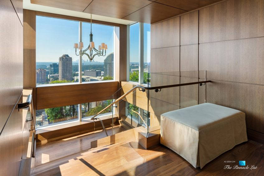 3630 Peachtree Rd NE, Unit 2808, Atlanta, GA, USA - Condo Amenity Room Entrance - Luxury Real Estate - The Ritz-Carlton Residences Buckhead