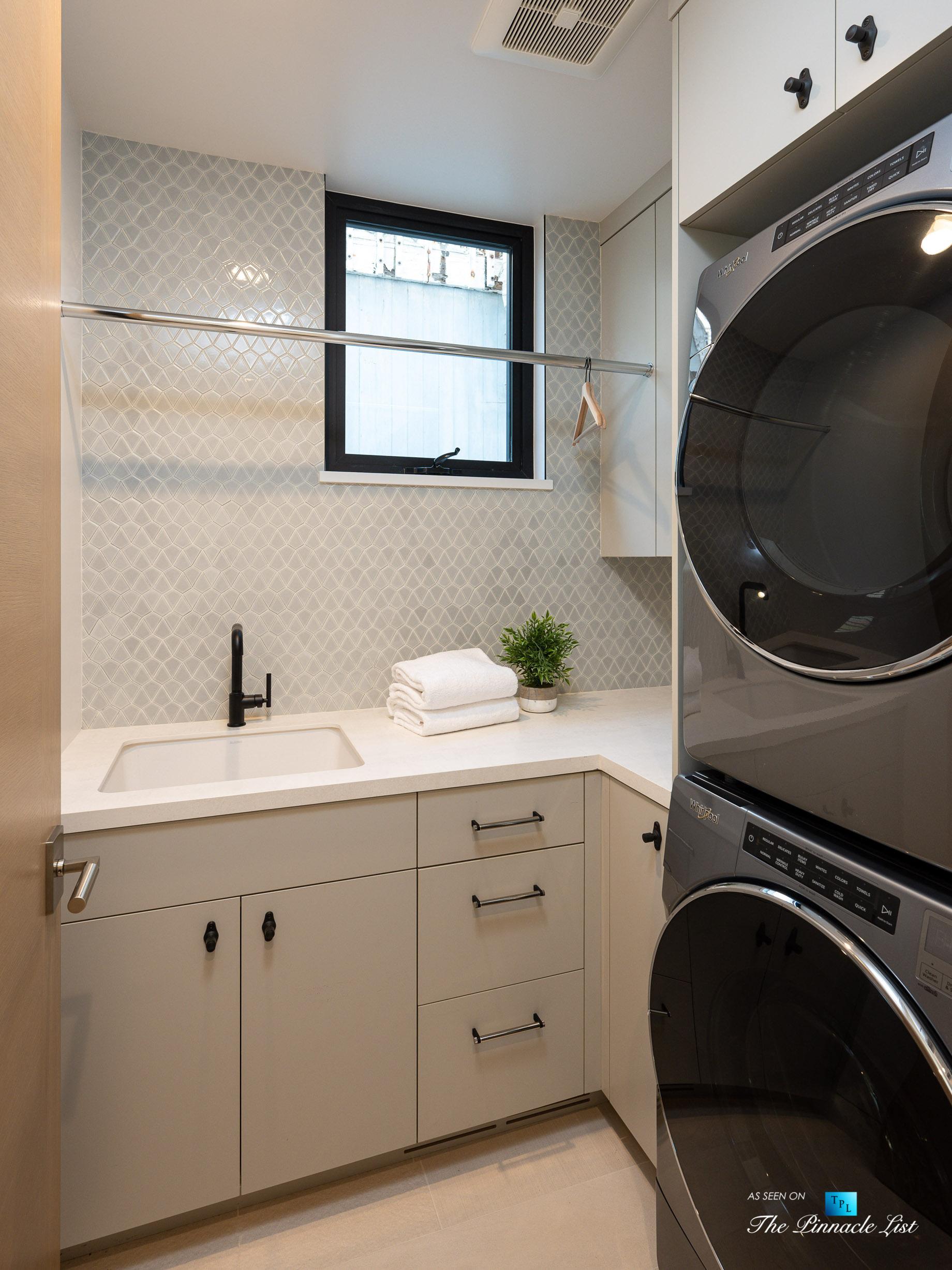2016 Ocean Dr, Manhattan Beach, CA, USA - Laundry - Luxury Real Estate - Modern Ocean View Home
