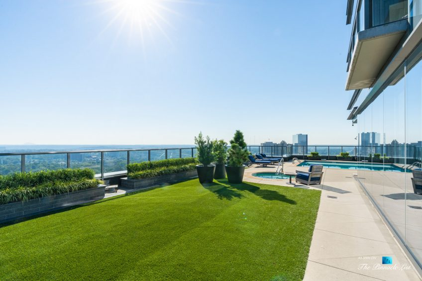 3630 Peachtree Rd NE, Unit 2808, Atlanta, GA, USA - Condo Private Pool Deck - Luxury Real Estate - The Ritz-Carlton Residences Buckhead