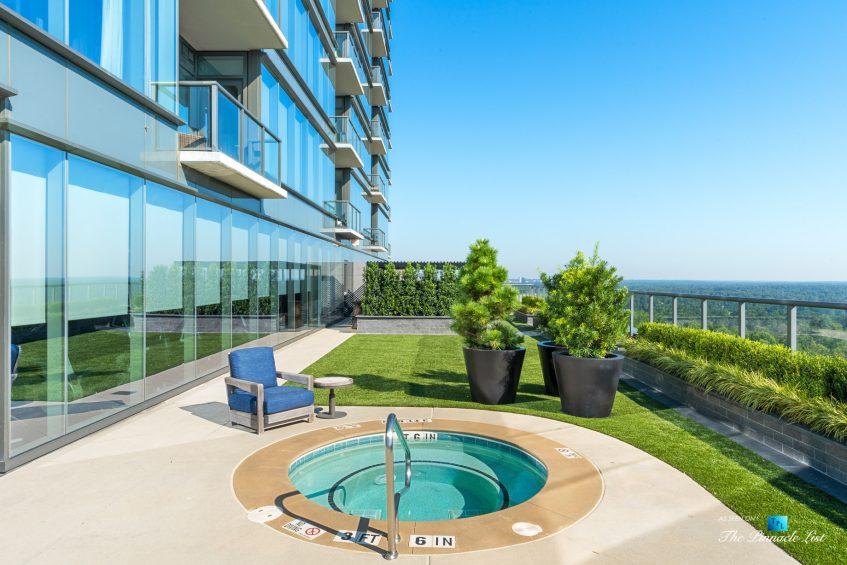 3630 Peachtree Rd NE, Unit 2808, Atlanta, GA, USA - Condo Outside Private Hot Tub - Luxury Real Estate - The Ritz-Carlton Residences Buckhead