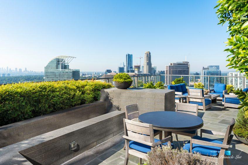 3630 Peachtree Rd NE, Unit 2808, Atlanta, GA, USA - Condo Outside Private Pool Lounge - Luxury Real Estate - The Ritz-Carlton Residences Buckhead