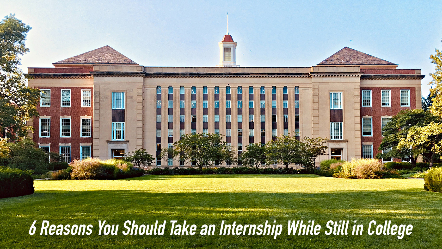 6 Reasons You Should Take an Internship While Still in College