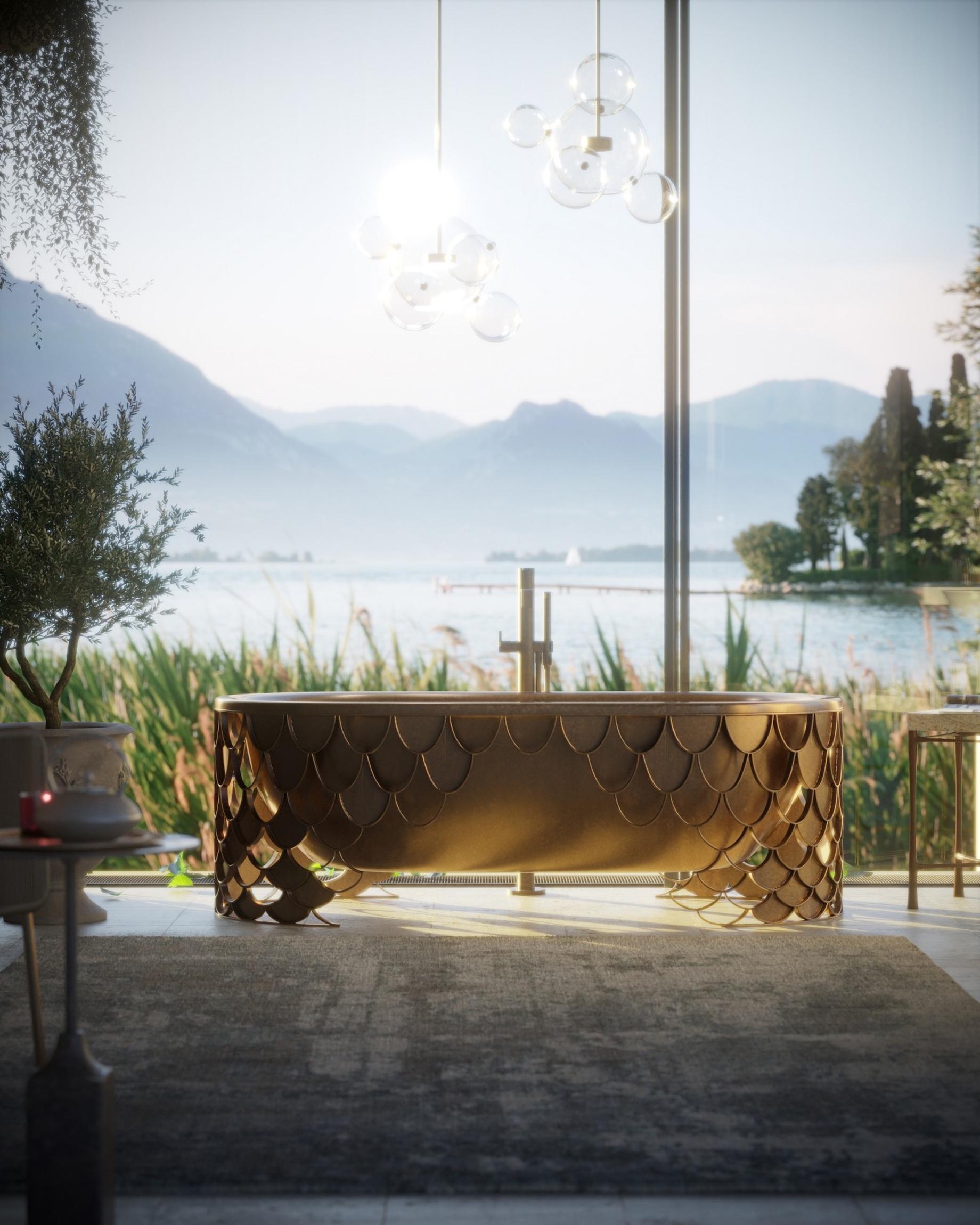 Freestanding Bathtubs - Top 6 Interior Design Trends for Luxury Living in California