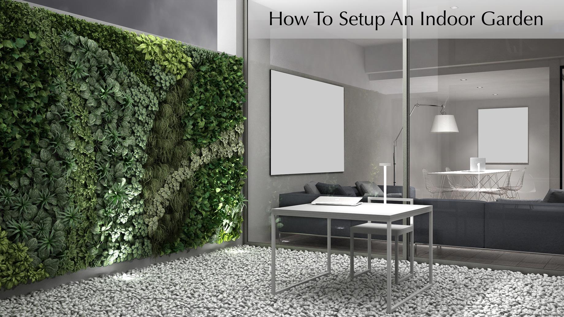 How To Setup An Indoor Garden
