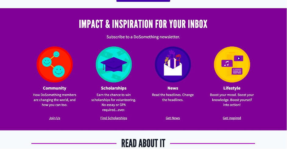 Impact & Inspiration For Your Inbox