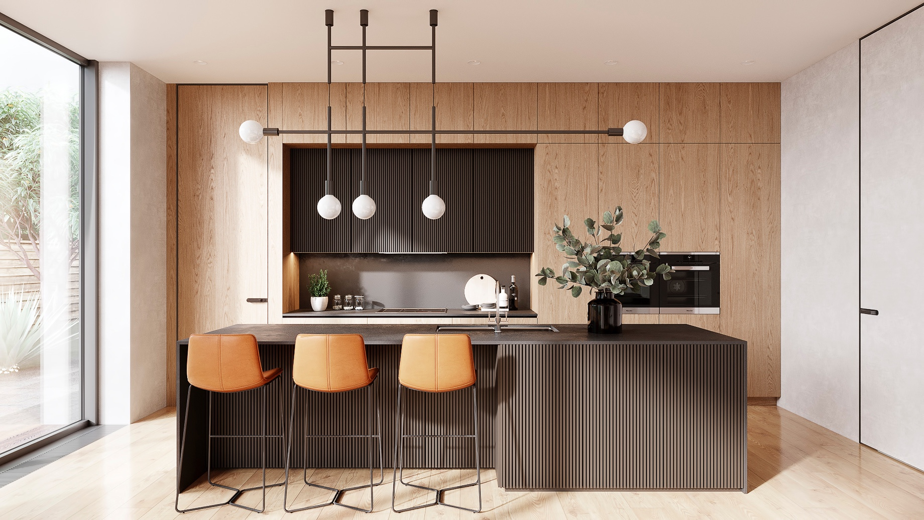 Sleek-Looking Kitchens - Top 6 Interior Design Trends for Luxury Living in California