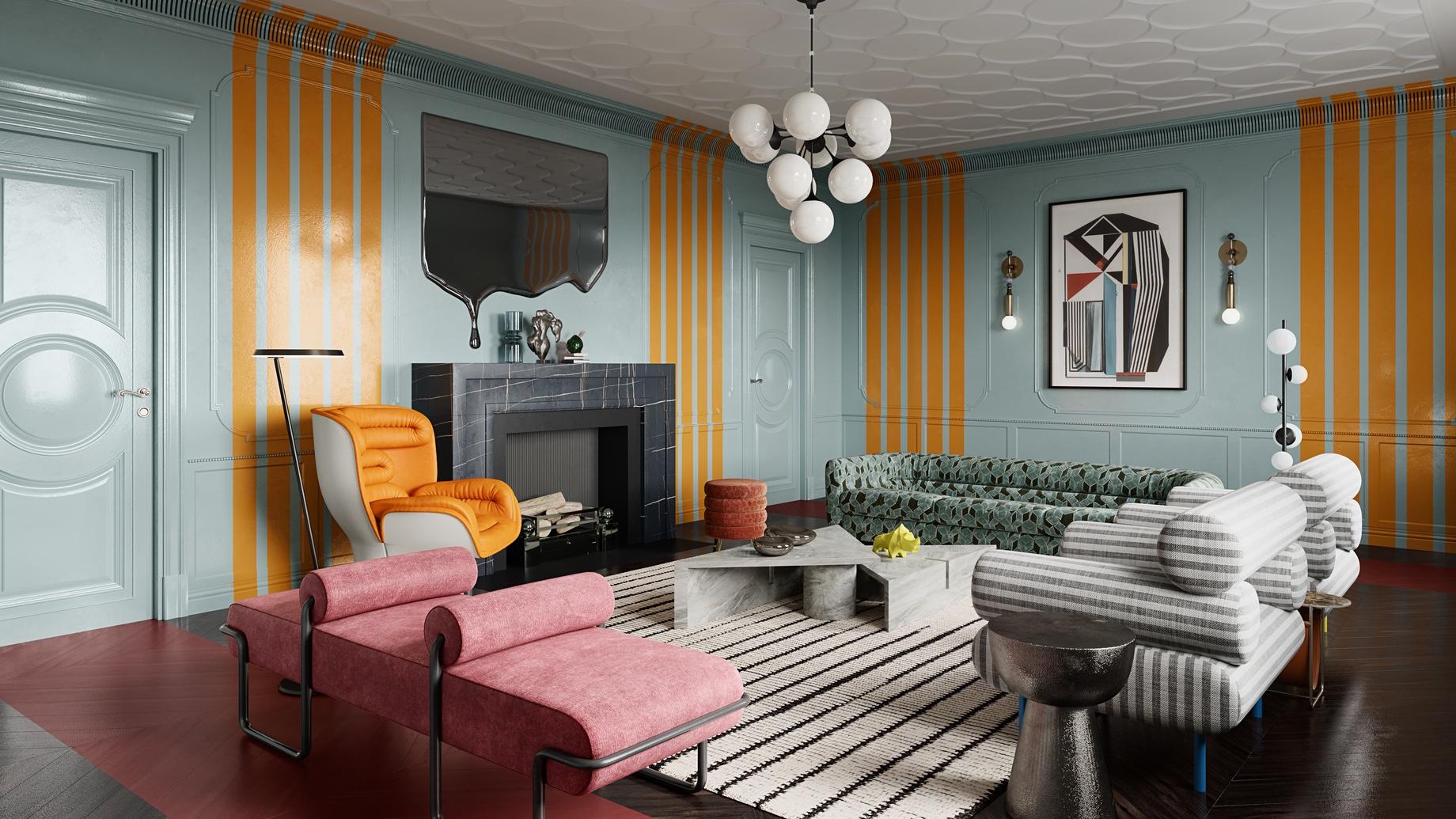 Statement Decor Pieces - Top 6 Interior Design Trends for Luxury Living in California