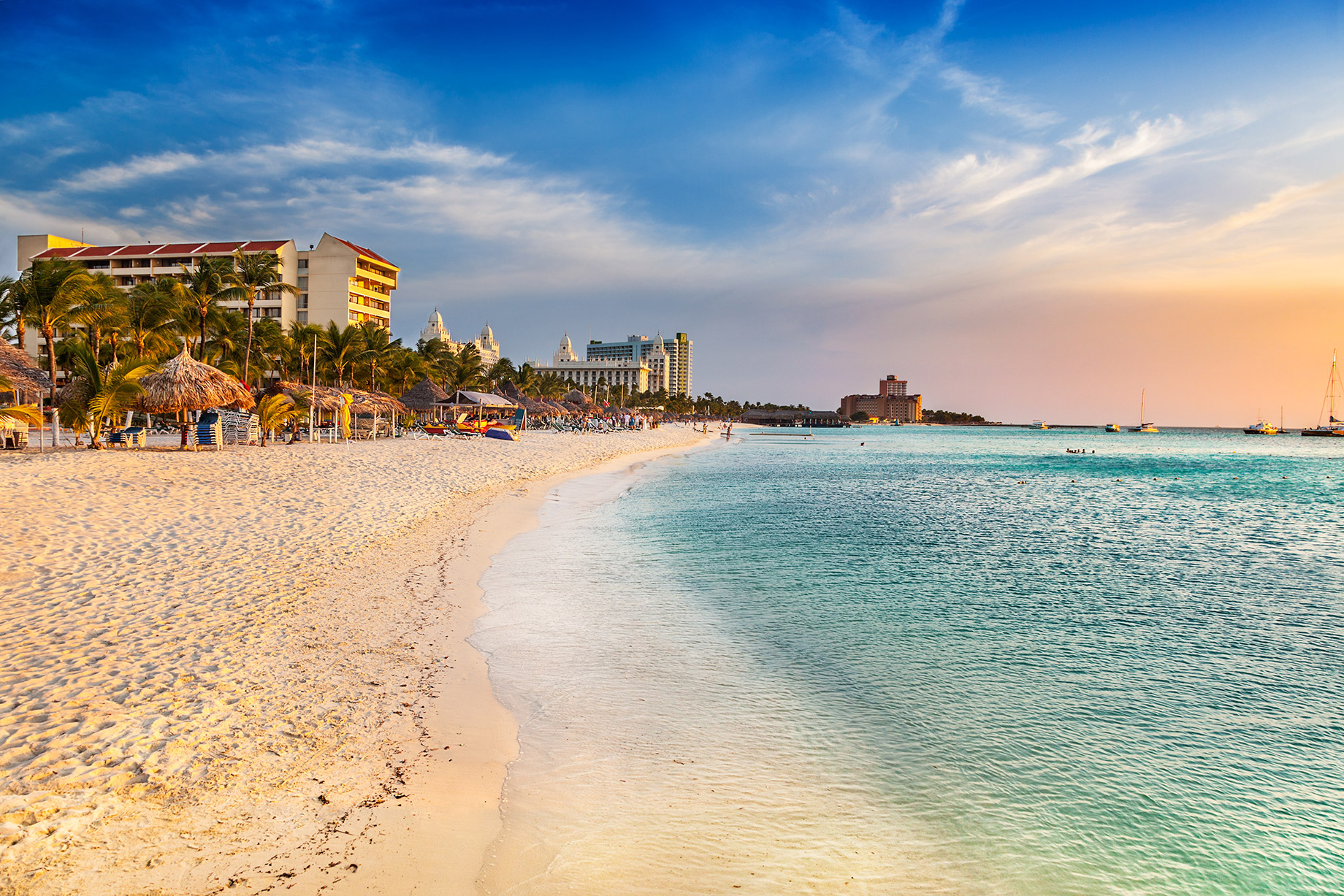 Palm Beach, Aruba - 4 Luxury Holiday Destinations to Choose as a Second Home