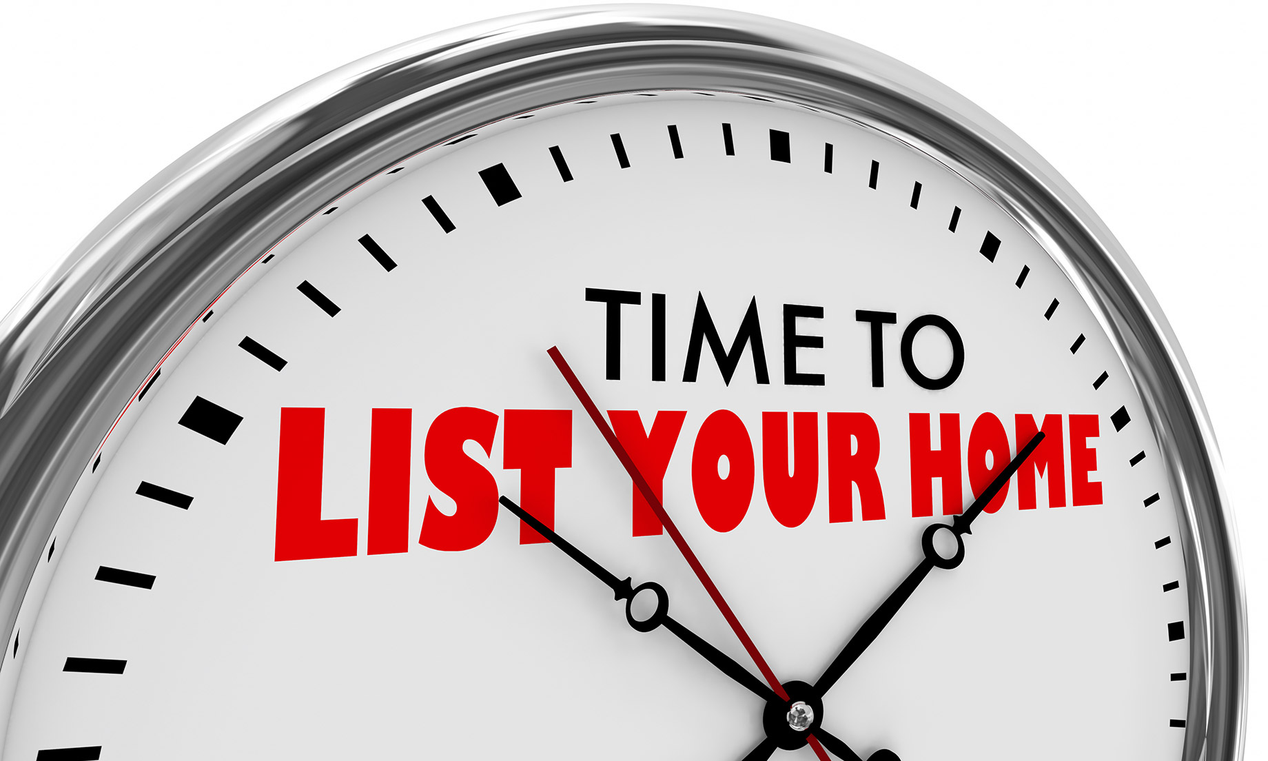 Time to List Your Home for Sale