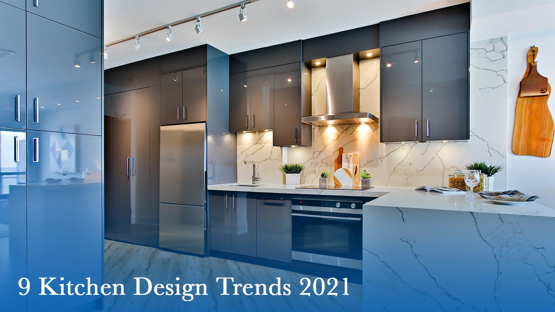 On Point - 9 Kitchen Design Trends 2021