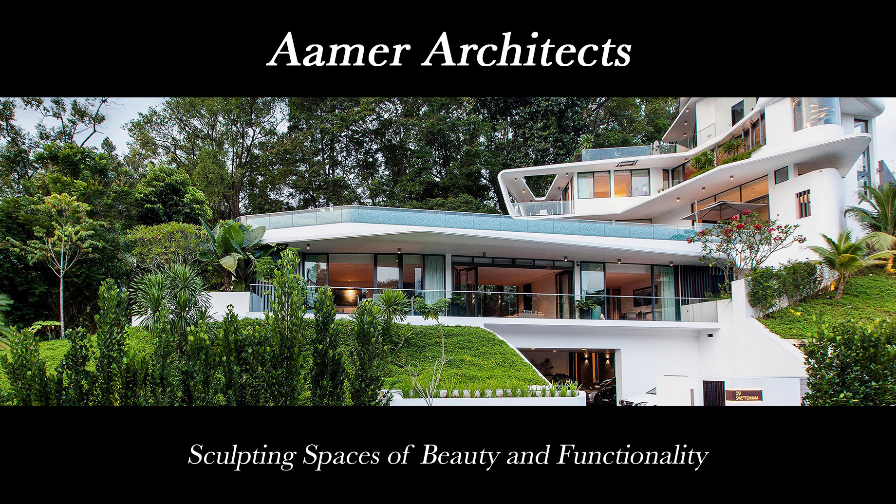 Aamer Architects - Sculpting Spaces of Beauty and Functionality