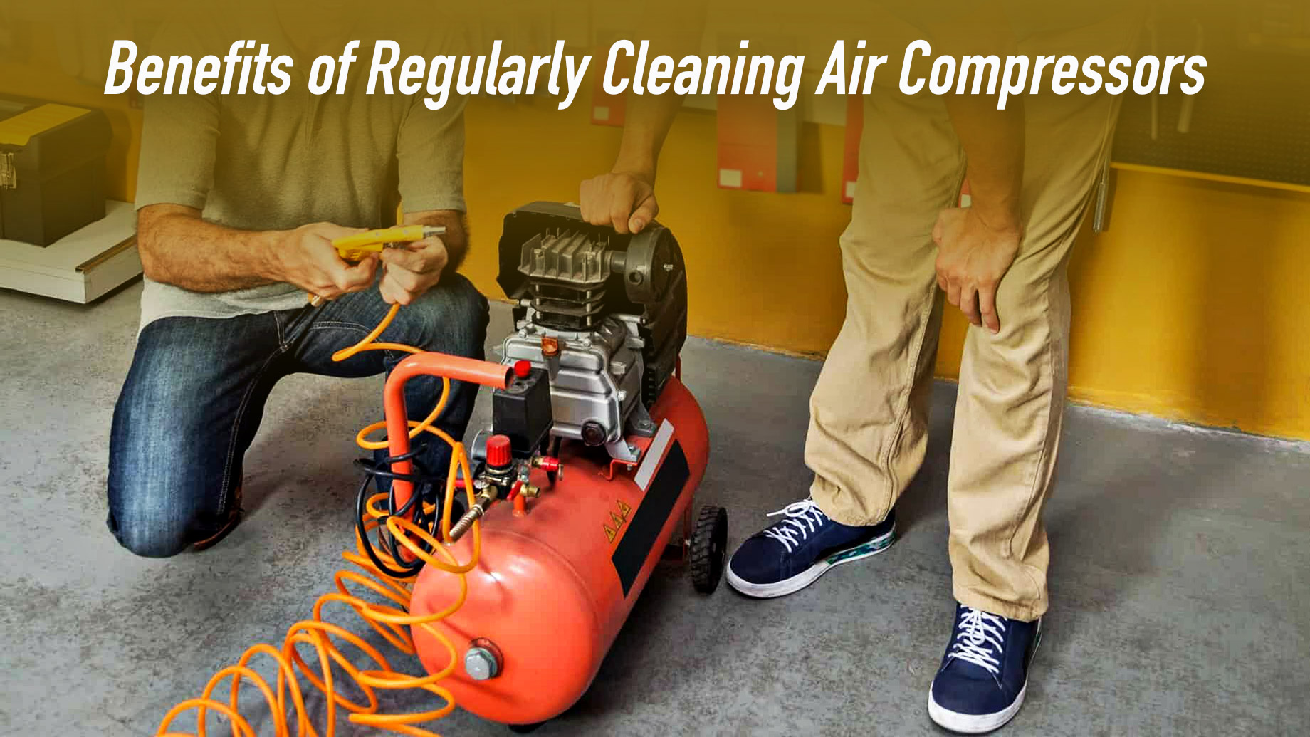 Benefits of Regularly Cleaning Air Compressors