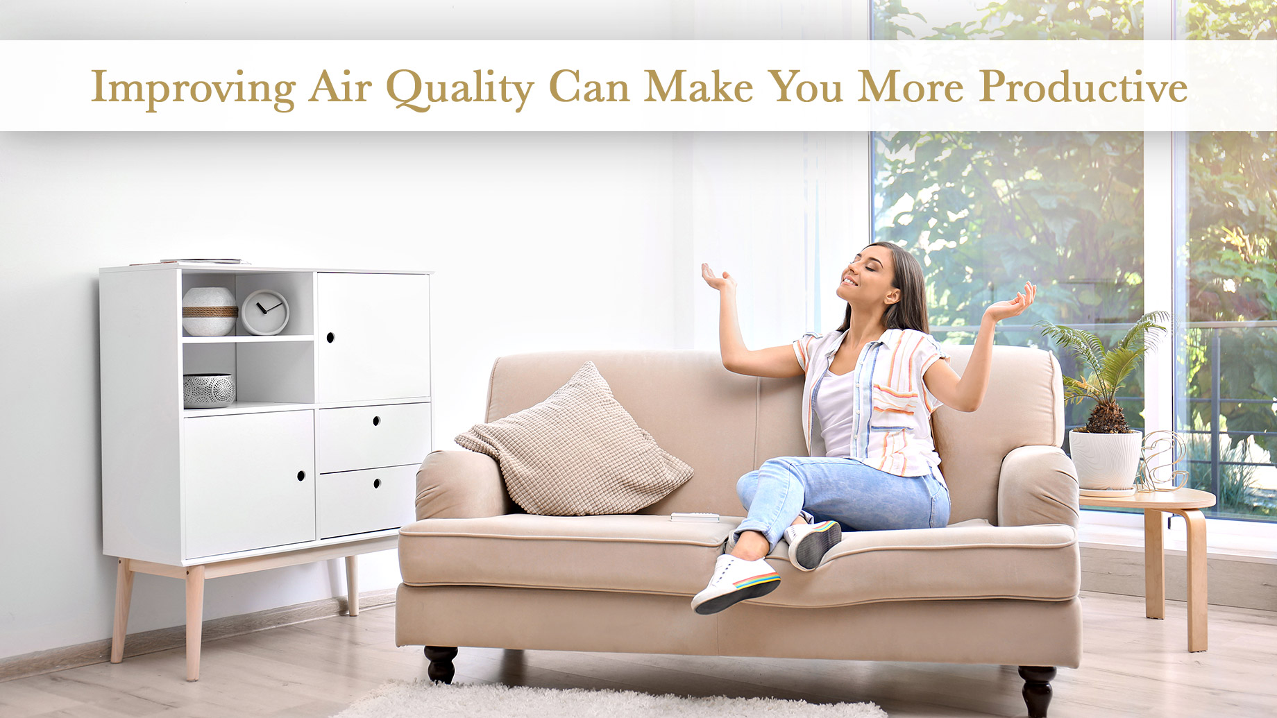 Improving Air Quality Can Make You More Productive