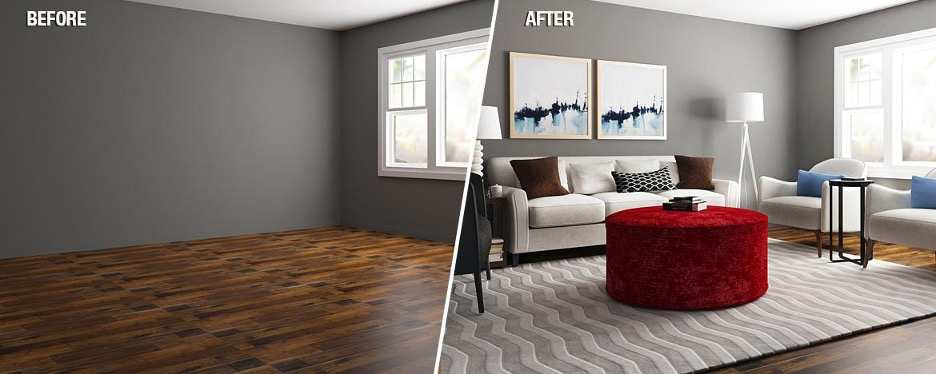 Home Staging – Before and After