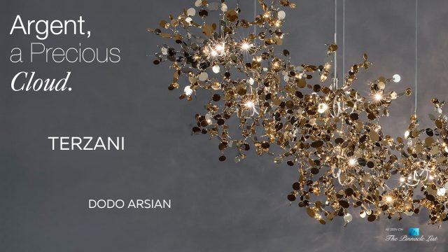 A Precious Cloud Sculpture of Light - Argent Fixtures by Terzani Lighting Italy