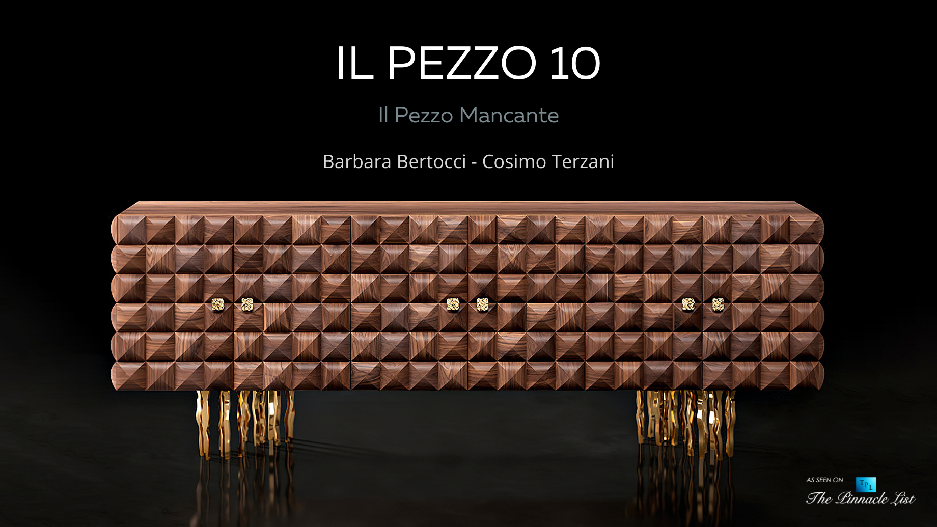 Elegant and Passionate Florentine Furniture - Il Pezzo Mancante 10 Collection