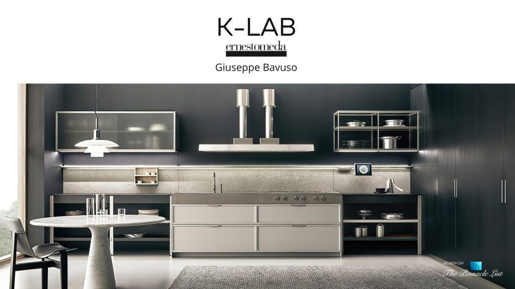 K-LAB Modern Contemporary Kitchen Design by Ernestomeda Italy