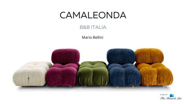 Mario Bellini Contemporary Classic Camaleonda Sofa Collection by B&B Italia