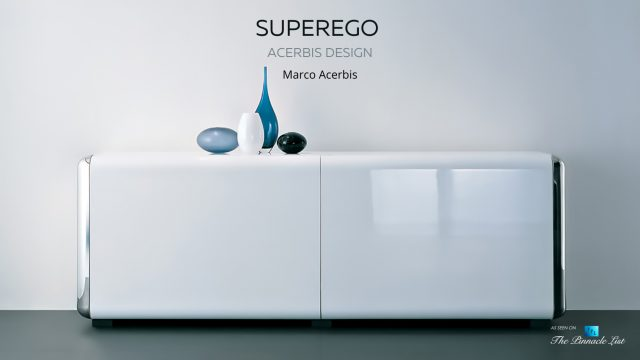 Space Age Modern Luxury Superego Credenza by Acerbis Design Italy