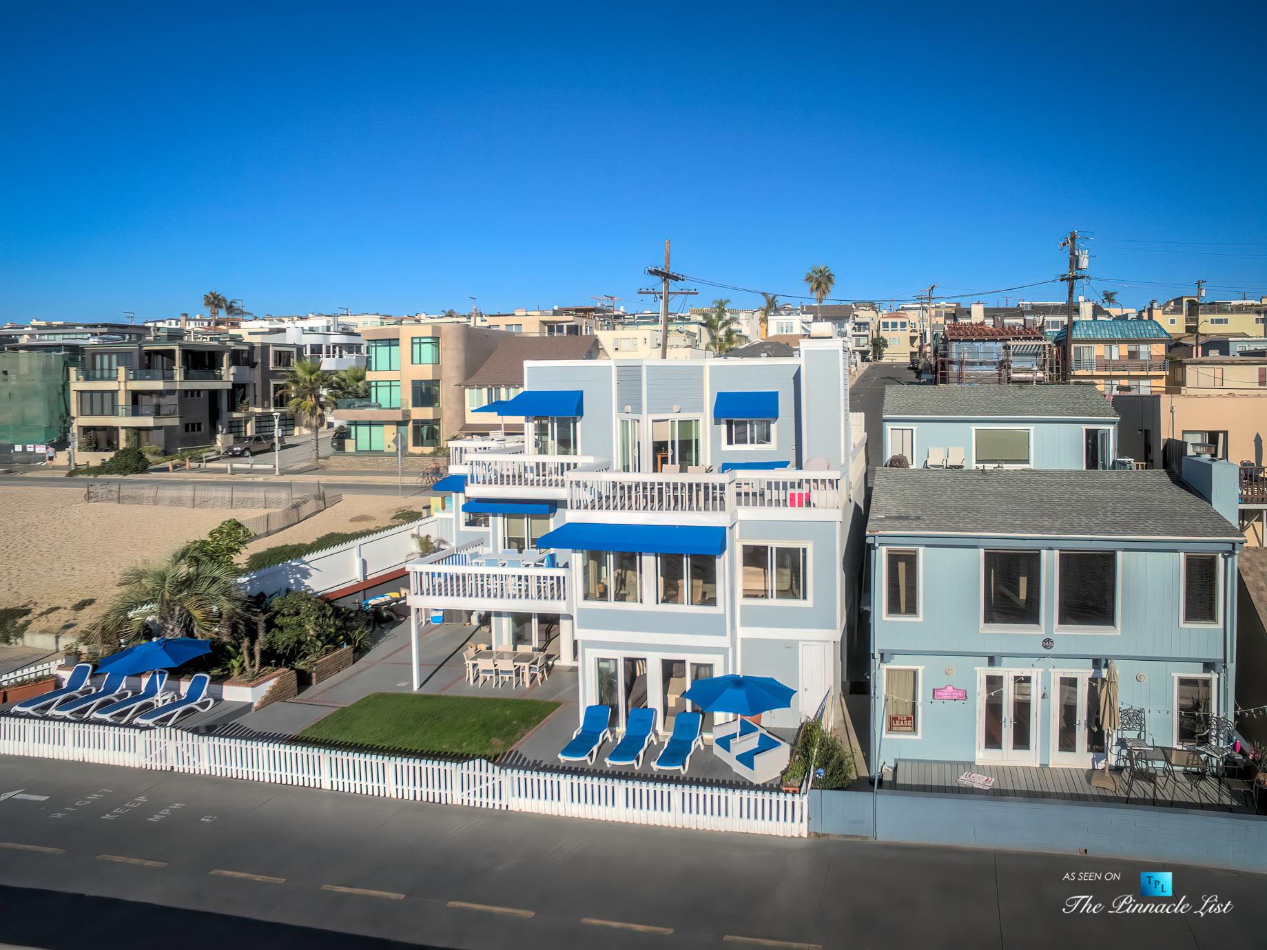 3500 The Strand, Hermosa Beach, CA, USA – Beachfront Luxury Real Estate – Original 90210 Beach House