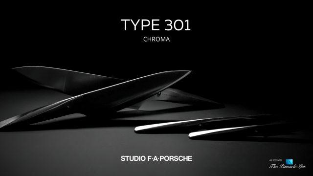 911 Creator F. A. Porsche Designed Chroma Type 301 Knife Collection