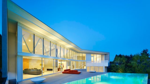 Concrete Glass Dream Home - Fairmile Rd, West Vancouver, BC, Canada