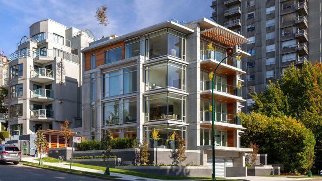 Eventide Ultra Luxury English Bay Homes - Bute St, Vancouver, BC, Canada