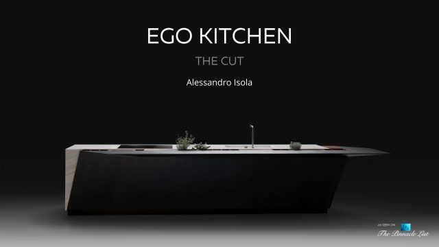 Futuristic Alessandro Isola EGO Kitchen by Record è Cucine Milan, Italy