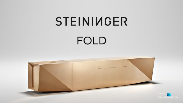 Iconic Steininger FOLD High Tech Kitchen Block Design Inspired by Origami