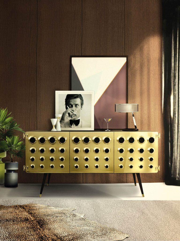 James Bond Styled MONOCLES Home Furniture Collection by DelightFULL