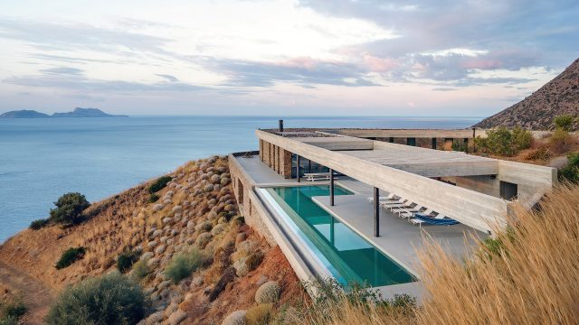 Ring House Modern Contemporary Residence - Agia Galini, Crete, Greece