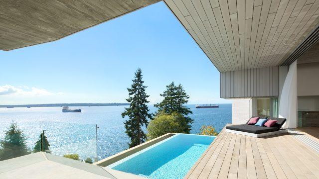 Sunset House Modern Organic Minimalism - West Vancouver, BC, Canada