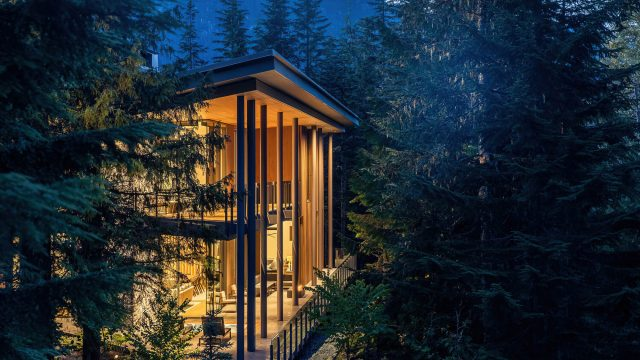 Trails Edge Palatial Luxury Ski Chalet Residence - Whistler, BC, Canada
