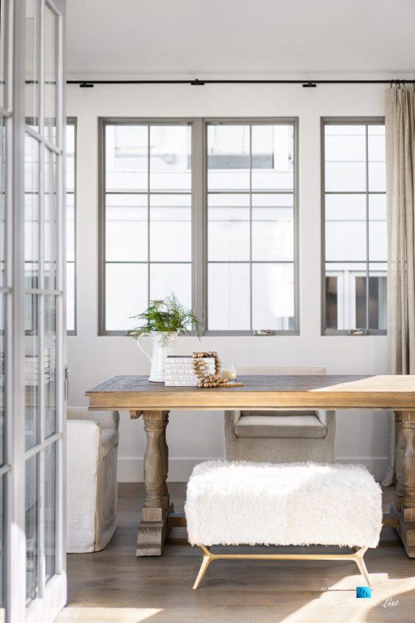 220 8th St, Manhattan Beach, CA, USA - Luxury Real Estate - Ocean View Dream Home - Sitting Area Table