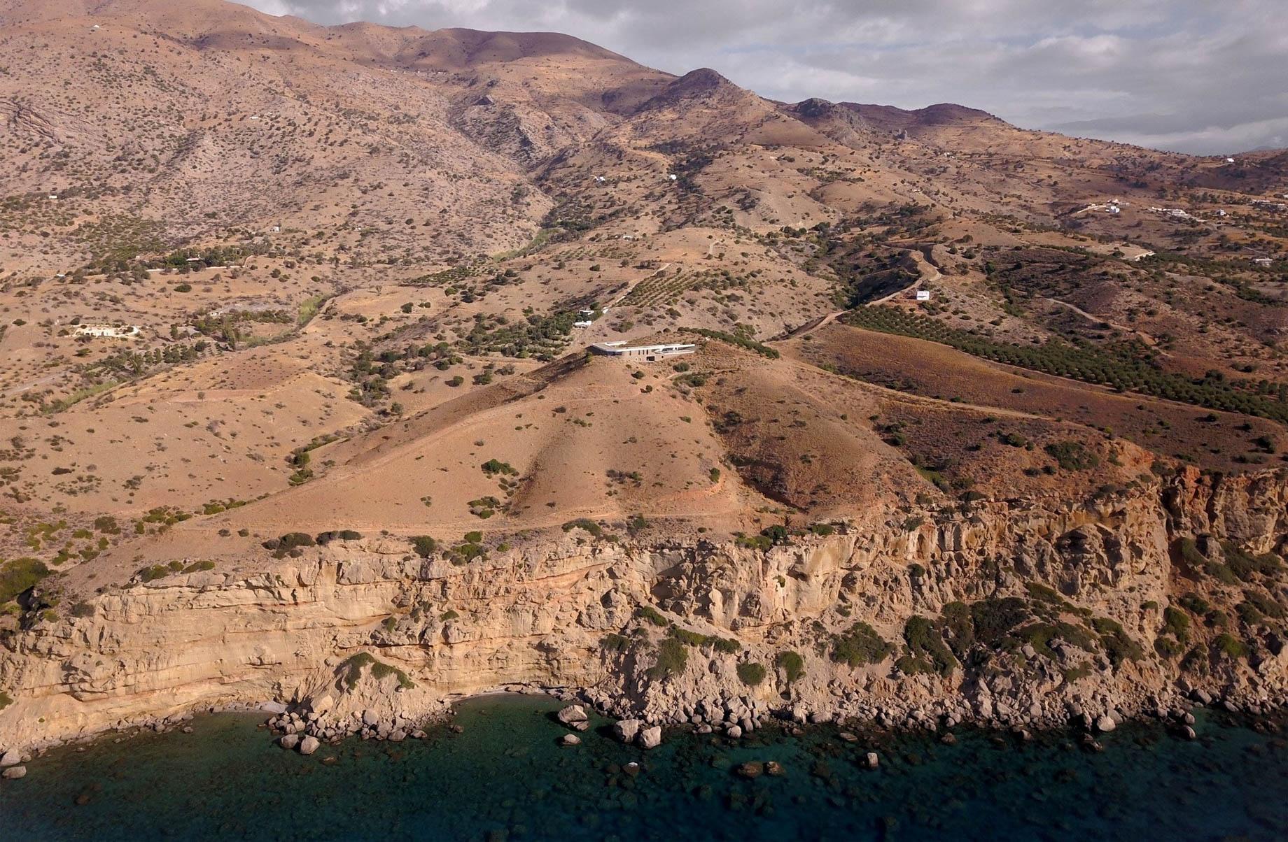 Ring House Modern Contemporary Residence – Agia Galini, Crete, Greece