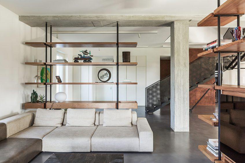 Casa C Rock Soul Inteior Design Rome, Italy - Alvisi Kirimoto