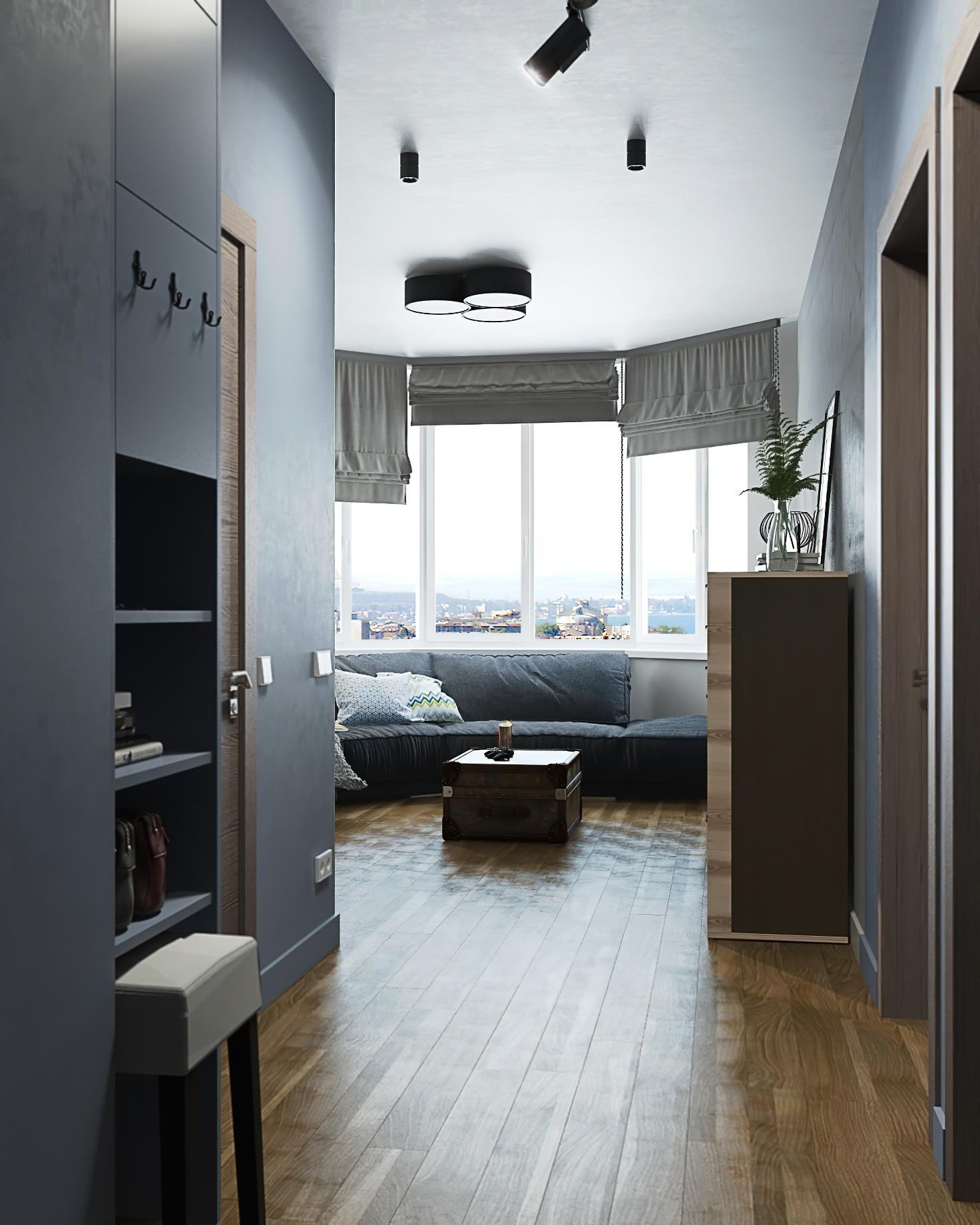 Sleepy Hollow K474 Apartment Interior Moscow, Russia - ETA Studio