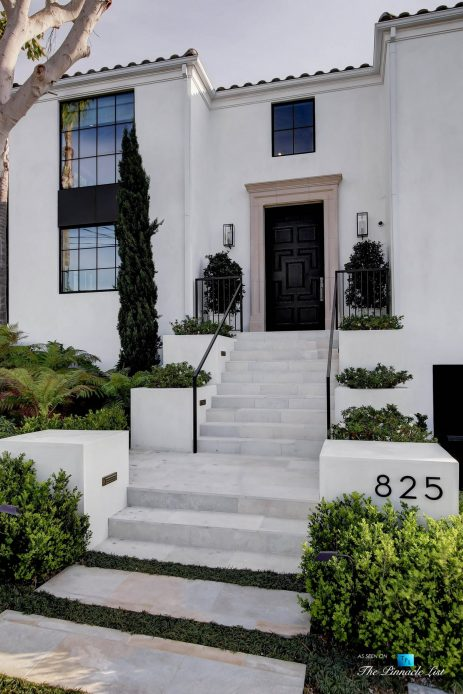 825 Highview Ave, Manhattan Beach, CA, USA - Luxury Real Estate - Modern Spanish Home Front Entrance