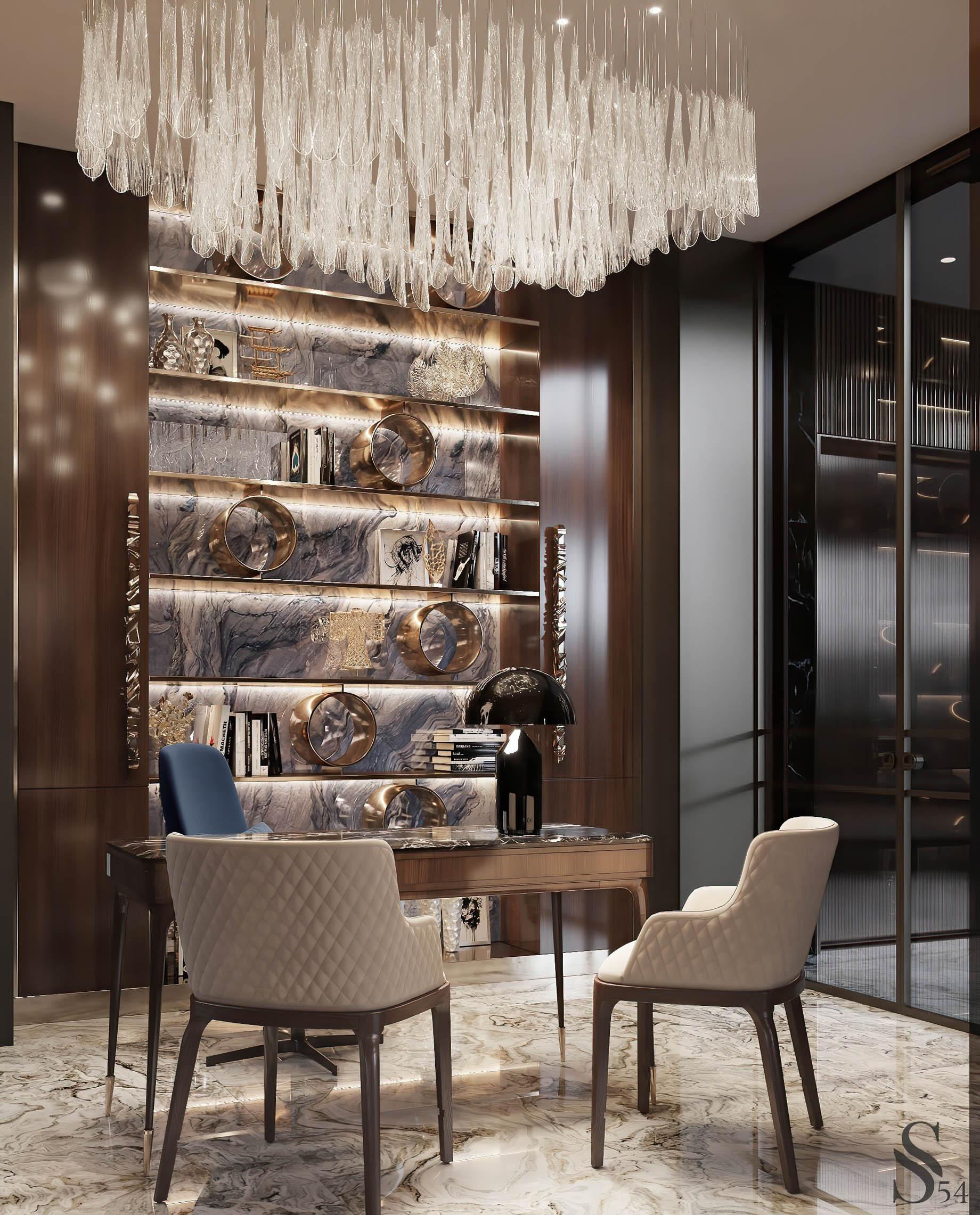 Enchanting Luxurious Villa Interior Design Dubai, UAE – Studia 54