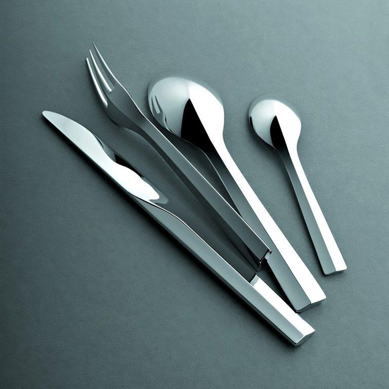Futuristic Zermatt Cutlery Collection by Puiforcat Paris is Art for the Kitchen