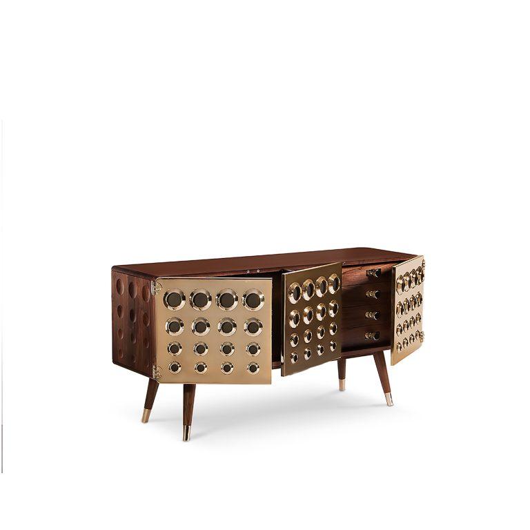 MONOCLES Sideboard Credenza – Essential Home – DelightFULL Midcentury Modern Design