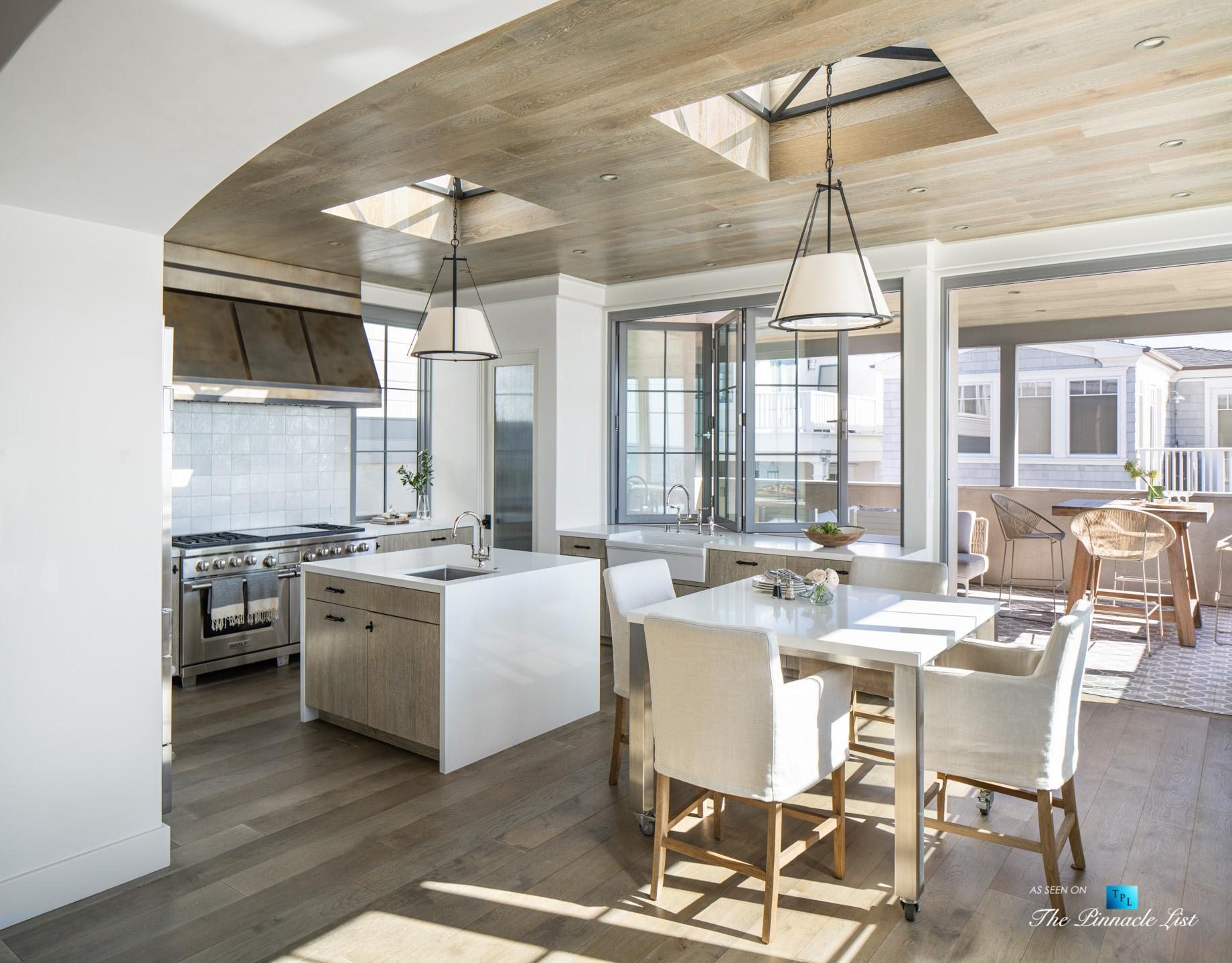 220 8th St, Manhattan Beach, CA, USA – Luxury Real Estate – Ocean View Dream Home – Modern Kitchen