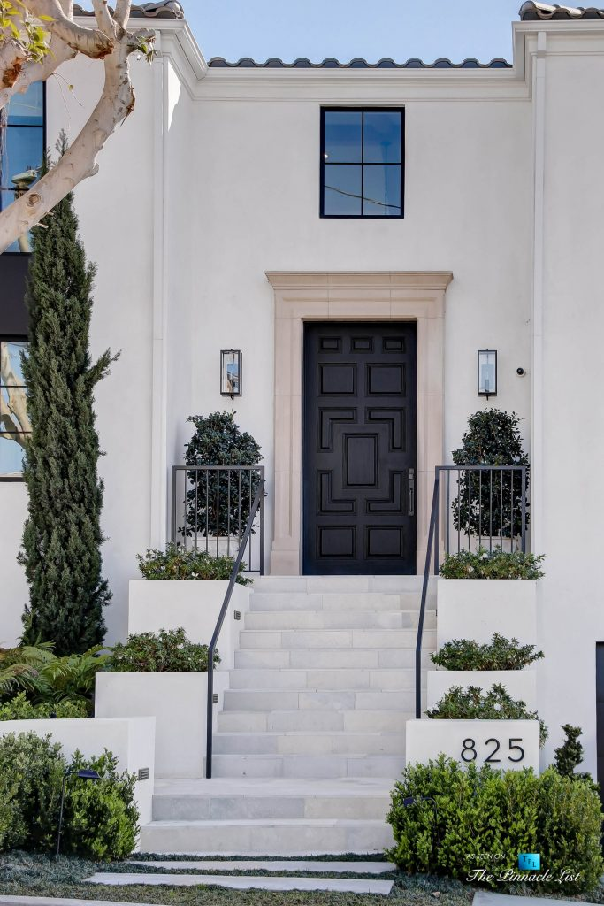825 Highview Ave, Manhattan Beach, CA, USA - Luxury Real Estate - Modern Spanish Home Front Door