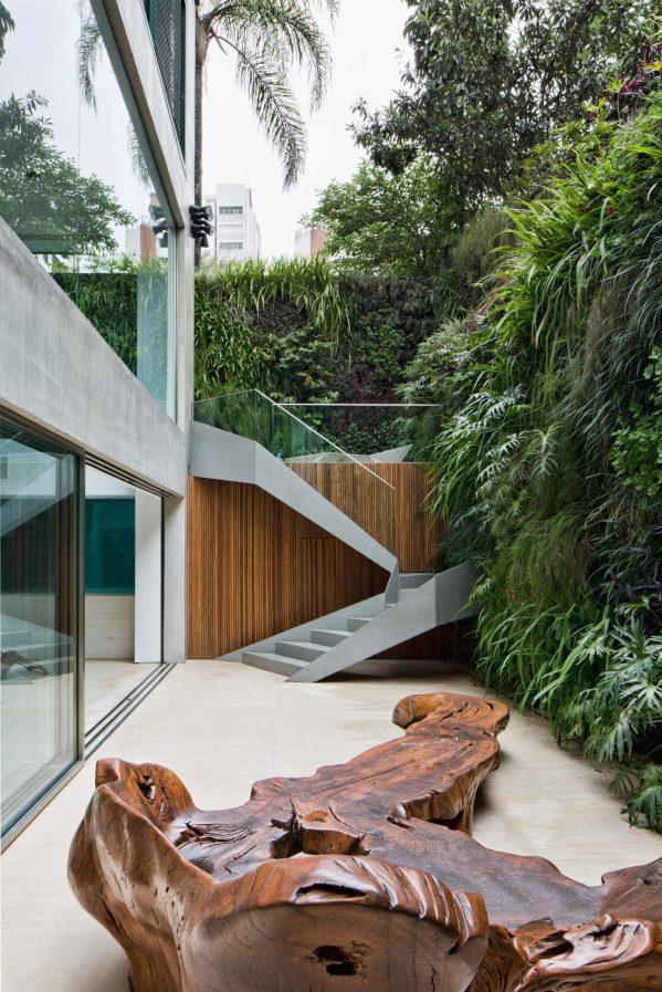 Panorama Swimming Pool House - Vila Nova Conceicao, Sao Paulo, Brazil