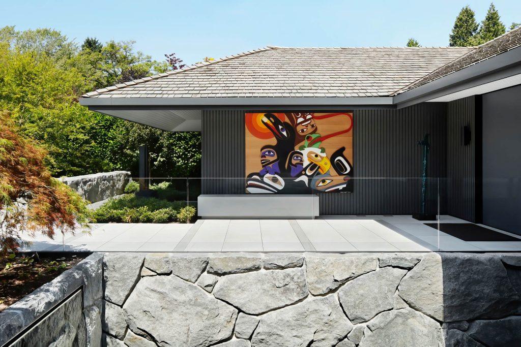 Sculpture Garden Gallery House Estate - Vancouver, BC, Canada