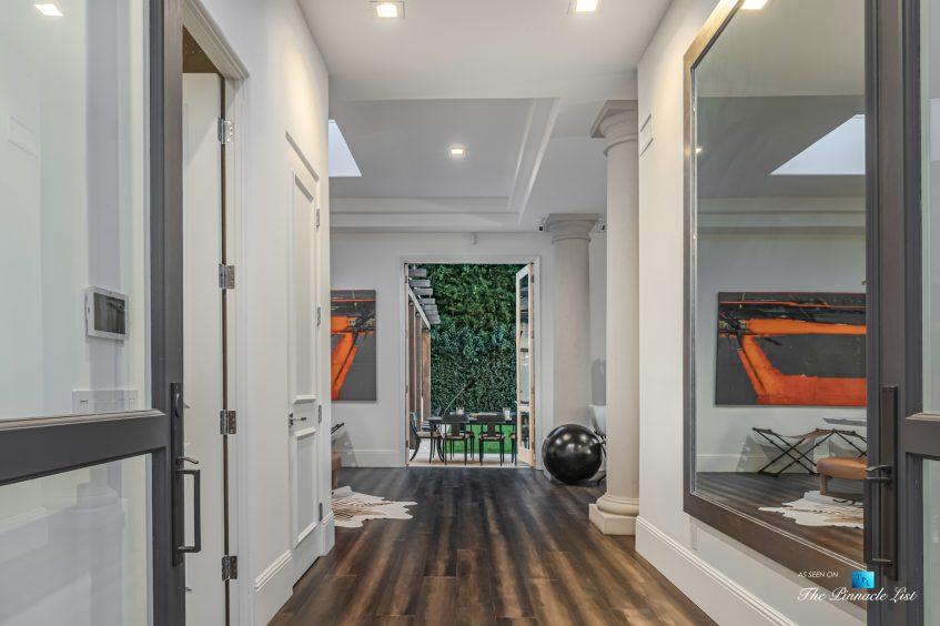 2720 Ellison Dr, Beverly Hills, CA, USA - Entrance - Luxury Real Estate - Italian Villa Hilltop Home