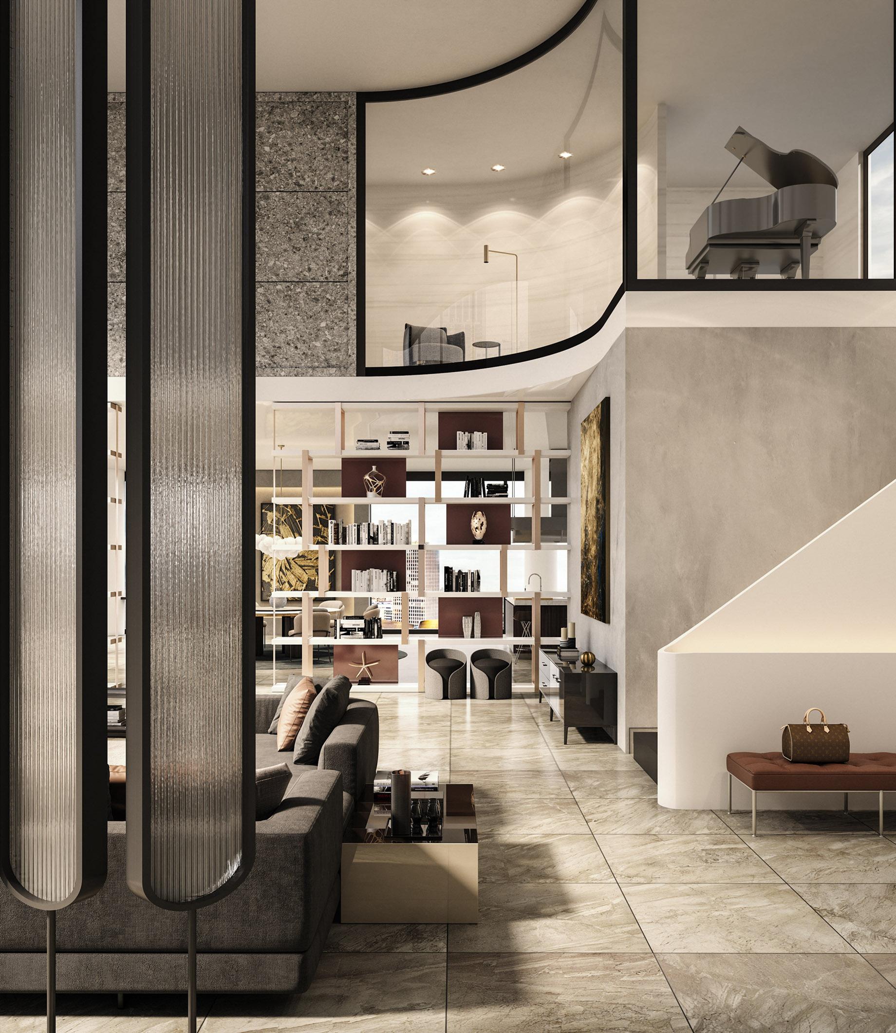 Penthouse Interior Design Los Angeles, CA, USA – Georgios Tataridis