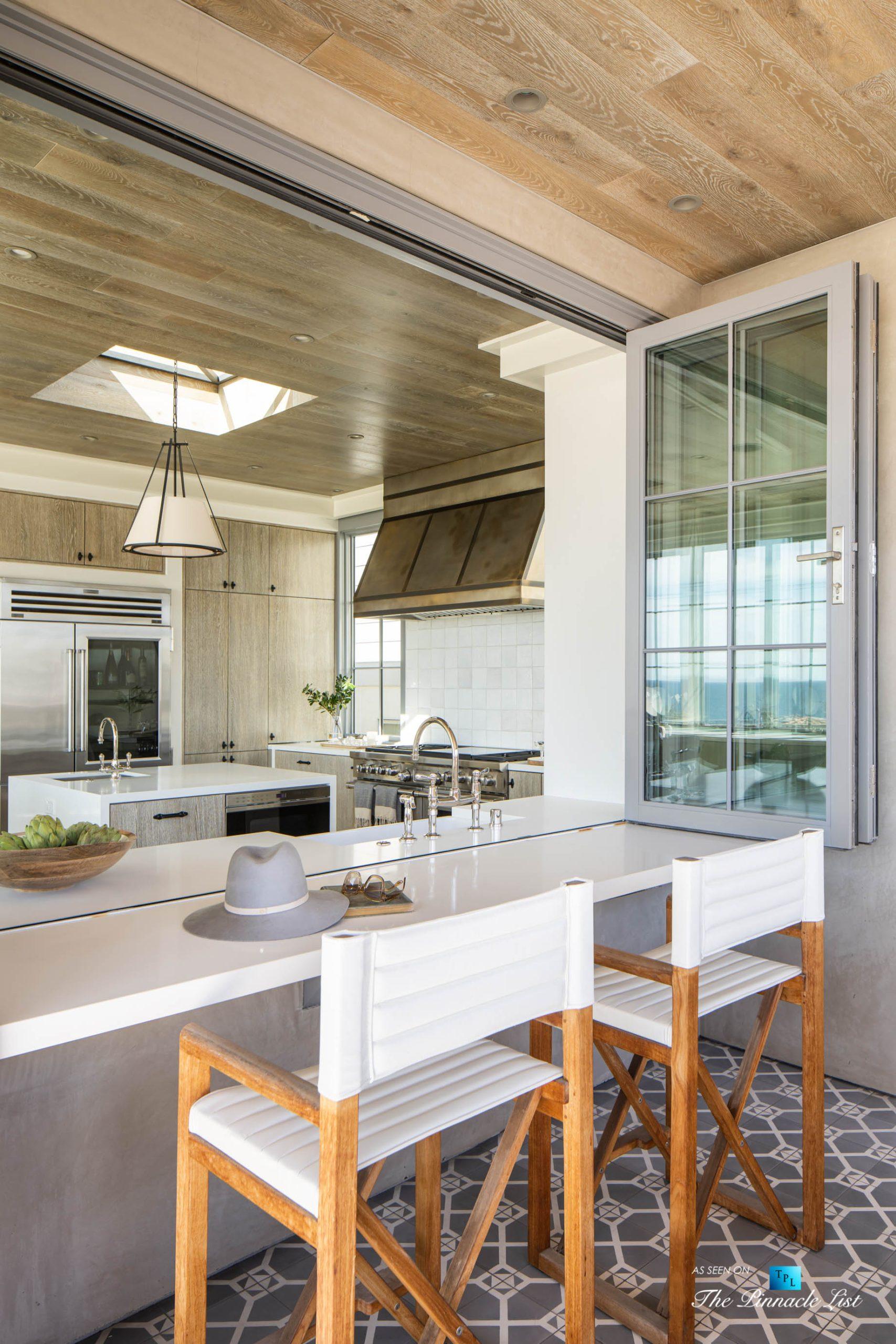 220 8th St, Manhattan Beach, CA, USA – Luxury Real Estate – Ocean View Dream Home – Kitchen Outdoor Deck