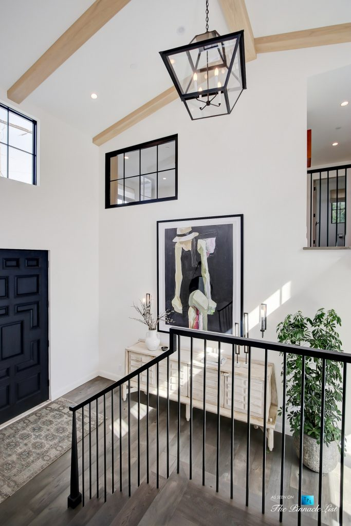 825 Highview Ave, Manhattan Beach, CA, USA - Interior Foyer Door - Luxury Real Estate - Modern Spanish Home